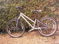 Ladies bike, small frame, good condition