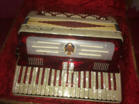 accordion silvio soprani in good condition