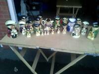 Job Lot Tony Wood Toby Jugs
