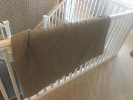 Grey linen curtains (pair)