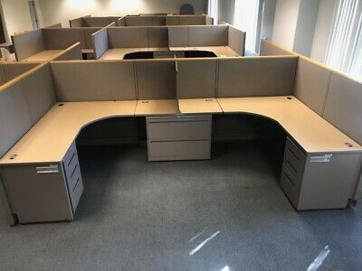 Allsteel 6x6 Office Cubicles Workstations