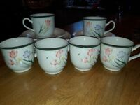 Noritake 6 piece tea set