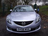 Mazda6 1.8 TS 5dr 2 OWNER, NEW MOT, AUX, CRUISE 2008 (08 reg), Hatchback