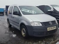 2008-08 plate volkswagen xtra long kombi 5 seat window van very low miles plus vat
