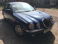 2001 51 Jaguar S Type 3.0 V6 Auto Full Mot FSH 15 Stamps Leather 2 Keys