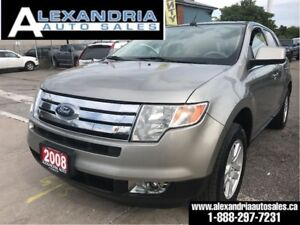 2008 Ford Edge Limited/leather/pano sunroof/169km/safety include