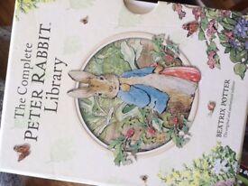 Peter Rabbit library - beautiful children's books