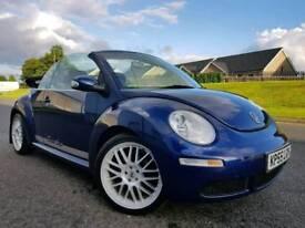 Dec 2005 Volkswagen Beetle 1.9 Tdi Convertible! Lovely Example! FSH! One Owner! Finance/Warranty