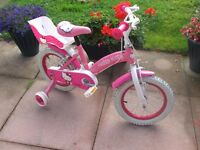 Little Kitty Girls Bicycle near mint condition TO LATE NOW SOLD NOW SOLD