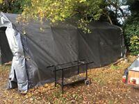 Dancover portable storage tent. Garage Pro 3.3m x 6m x 2.4m