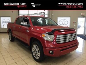 2014 Tundra CrewMax Platinum-One Owner-Toyota Warranty to 160,00