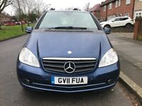 Mercedes Benz, Automatic, A class, A 160, 2011, CHEAPEST ON INTERNET, SMOKE & PET FREE, NEW MOT