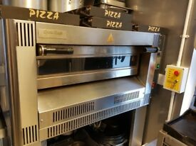 Gas Pizza Oven with Dough Maker