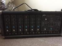Make me an offer - Peavey X-ray-300b with speakers and stands