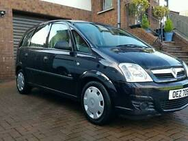 VAUXHALL MERIVA 1.4i ABSOLUTELY OUTSTANDING CONDITION INSIDE AND OUT. motd18/9/17.