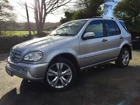 Mercedes-Benz ML270 CDI Special Edition **Full service History**