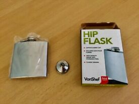 Hip Flask 6oz - New in Box