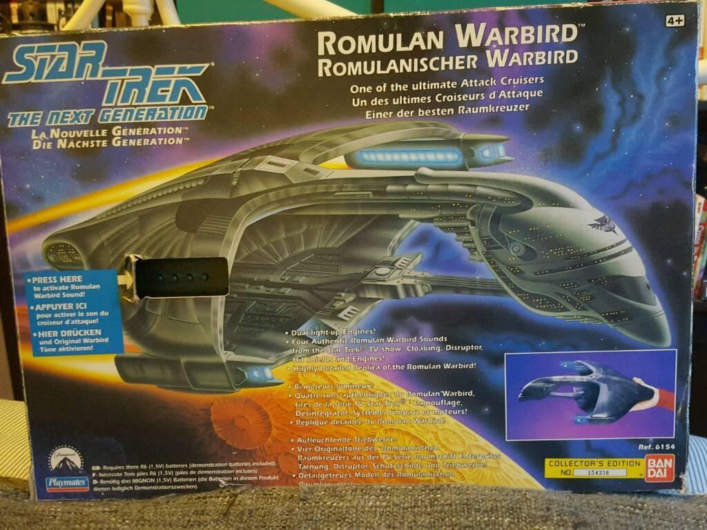Playmates Star Trek Romulan Warbird