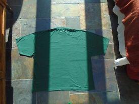 Men's T Shirts Bottle Green all size 44