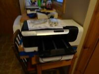 HP Officejet Pro 8000 printer plus 1 x black ink cartridge (worth about £18 on its own)