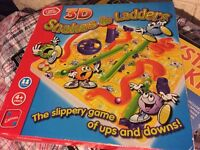 3D Snakes and ladders game toy