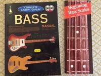 Bass Guitar Manual & Scales Book