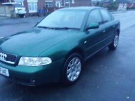 Classic Audi A4 1.8 SE 4dr saloon full service history + lots of new parts fitted