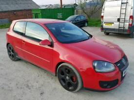 2005 VOLKSWAGEN GOLF 2.0 TFSI GTI TURBO 3 DOOR HATCHBACK RED 11 MONTHS M.O.T