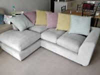L shaped corner sofa (right hand)