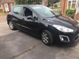 Peugeot 308 1.6hdi Active in black