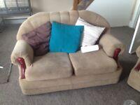 Mint condition sofas