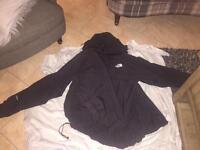 Men's black moth face jacket