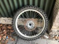 Honda crf 450 front wheel