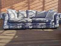 Newly reupholstered 4str sofa