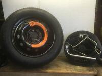 Fiat 500 Space Saver Wheel