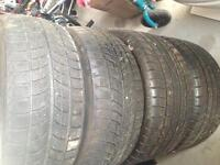 Used winter tires 225/40R18 255/40R18
