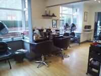 Established Unisex Hair Salon for sale.