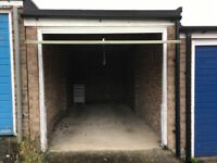Secure garage for storage to rent in Stowmarket