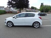 2013 vauxhall corsa sri low millage