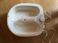 Ladies foot bath/massager