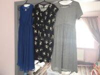 Maternity dress bundle. 7 dresses all size 14