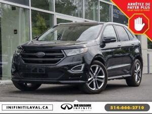 2015 Ford Edge Sport AWD Panoramique GPS Cuir-Chauf Camera