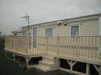Central Heated Caravan to let on Coral Beach Skegness