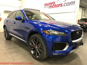 2017 Jaguar F-Pace First Edition 380 HP Supercharged AWD Pano