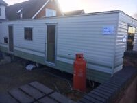 2 bedroom Static Caravan/ mobile home 35' x 10'