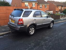 KIA sorento MANUAL low miles leather