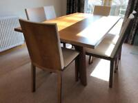 Skovby SM13 Extending Dining Table & 6 Skovby Chairs