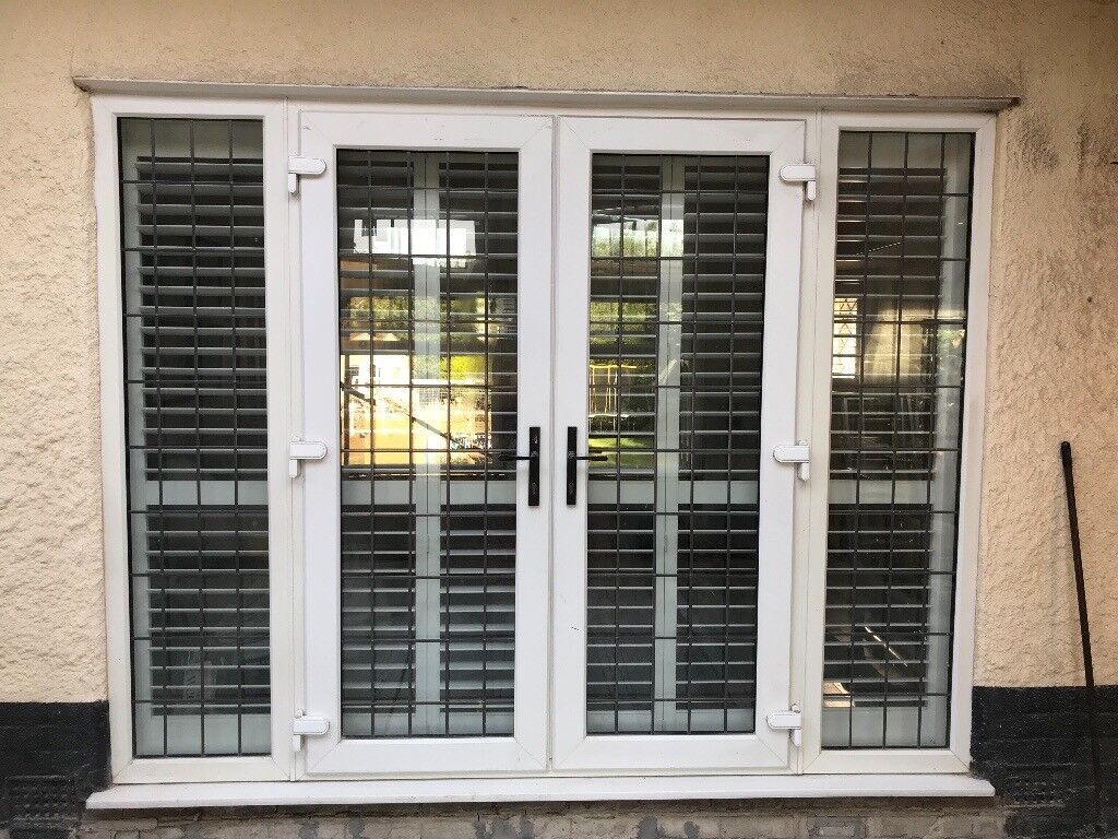 French Doors Sidelights White Upvc In Poole Dorset Gumtree