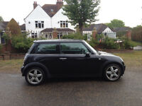 MINI COOPER 1.6 FULL SERVICE HISTORY MOT 5 MONTHS HALF LEATHER ALLOYS AIR CON CD PLAYER