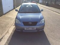 TOYOTA COROLLA T3 1.4 MOT UNTIL MAY 2018 2 KEYS NICE AND CLEAN